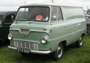 We headed off in a van just like this.