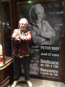 Peter May French bookstore
