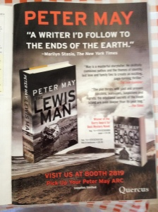 Peter May The Lewis Man Quercus USA