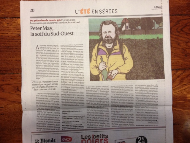 Peter May Le Monde