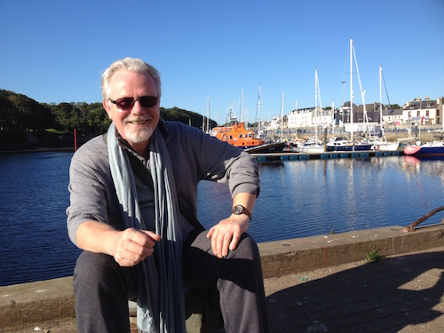 Peter May in Stornoway