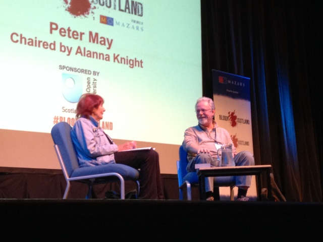 Peter May and Alanna Knight