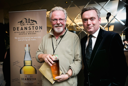 Peter May with Deanston Scottish Crime Novel of the Year